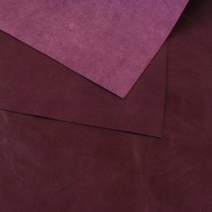 0.8-1mm Glossy Cowhide Purple A4